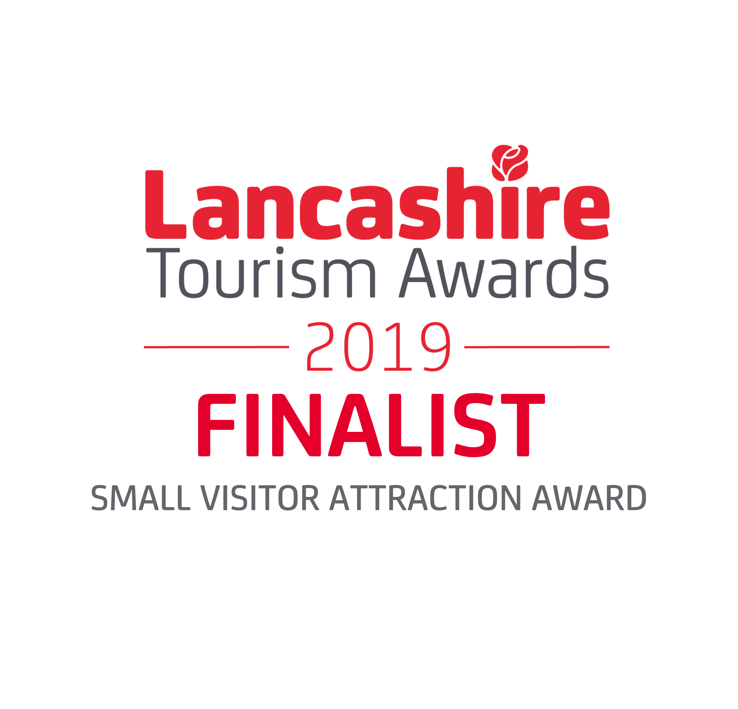Lancashire Tourism Awards Finalist 2019 SMALL VISITOR ATTRACTION